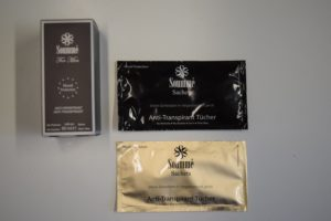 Novel Antitranspirant Sachets